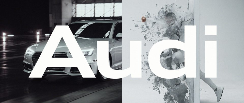 Image from Barrier Audi A4 by Antibody.