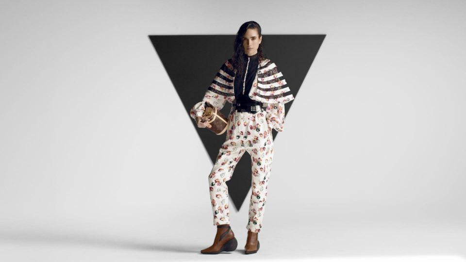 Image from Pre-Fall 2019 Louis Vuitton by Antibody.