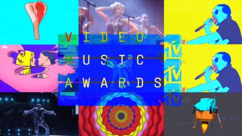 Image from Video Music Awards MTV by Antibody.
