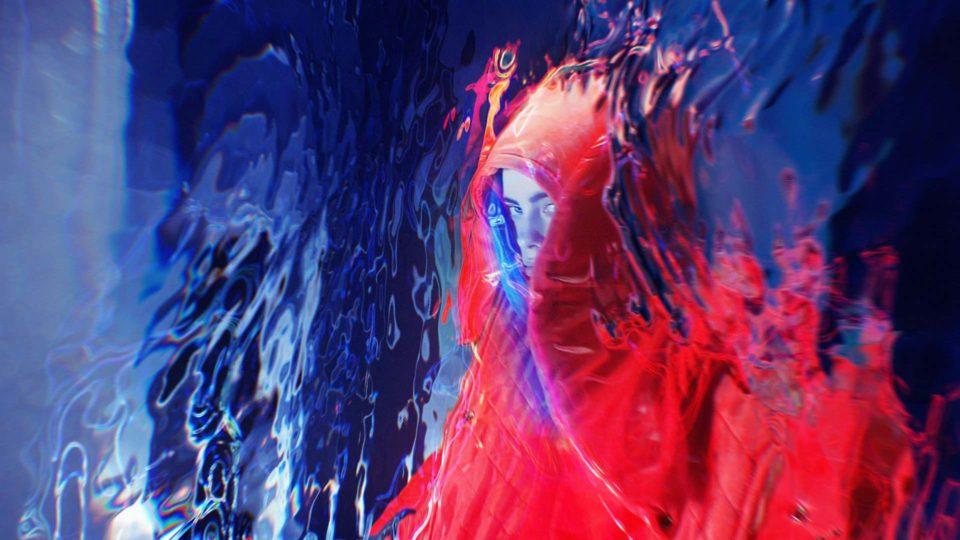 Image from Bury A Friend Billie Eilish by Antibody.